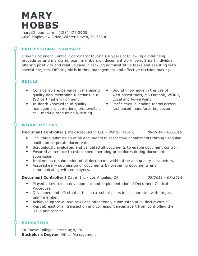 professional resume examples  our most popular resumes in