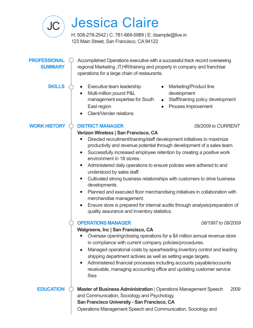 Standout Resume